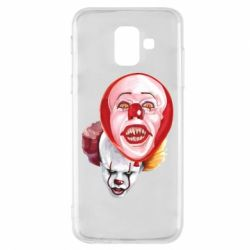 Чохол для Samsung A6 2018 Scary Clown