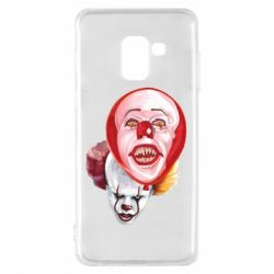 Чохол для Samsung A8 2018 Scary Clown