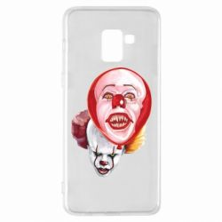 Чохол для Samsung A8+ 2018 Scary Clown