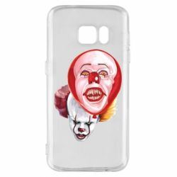 Чохол для Samsung S7 Scary Clown