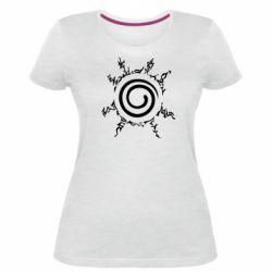 Жіноча стрейчева футболка Sceau Naruto