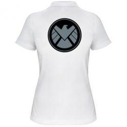 Женская футболка поло Щ.И.Т. - FatLine