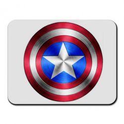 Коврик для мыши Щит Капитана Америка - FatLine