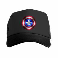 Кепка-тракер Щит Капитана Америка - FatLine