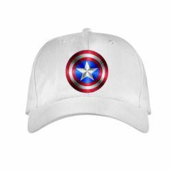Детская кепка Щит Капитана Америка - FatLine