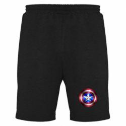 Мужские шорты Щит Капитана Америка - FatLine