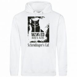 Чоловіча толстовка Schrödinger's cat is wanted