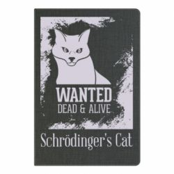Блокнот А5 Schrödinger's cat is wanted