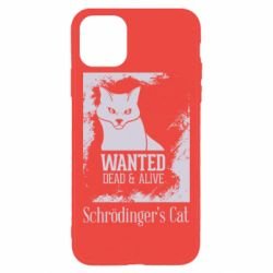 Чохол для iPhone 11 Pro Max Schrödinger's cat is wanted