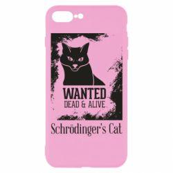Чохол для iPhone 7 Plus Schrödinger's cat is wanted