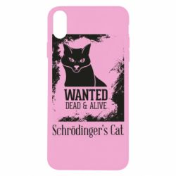 Чохол для iPhone X/Xs Schrödinger's cat is wanted