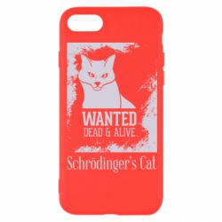 Чохол для iPhone 8 Schrödinger's cat is wanted