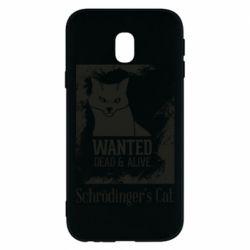 Чохол для Samsung J3 2017 Schrödinger's cat is wanted