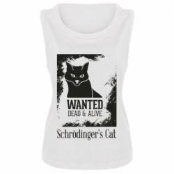 Майка жіноча Schrödinger's cat is wanted