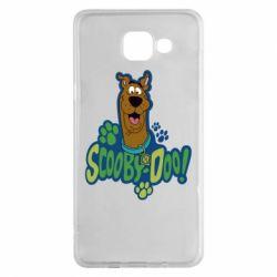 Чехол для Samsung A5 2016 Scooby Doo!