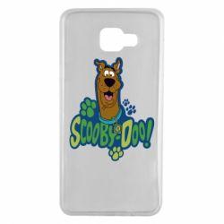 Чехол для Samsung A7 2016 Scooby Doo!