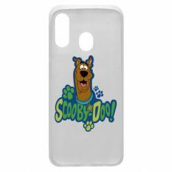 Чехол для Samsung A40 Scooby Doo!