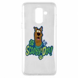 Чехол для Samsung A6+ 2018 Scooby Doo!