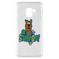 Чехол для Samsung A8 2018 Scooby Doo!