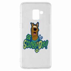 Чехол для Samsung A8+ 2018 Scooby Doo!