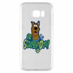 Чехол для Samsung S7 EDGE Scooby Doo!