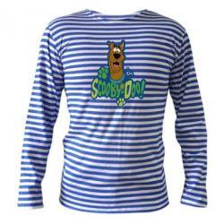 Тельняшка с длинным рукавом Scooby Doo! - FatLine