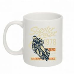Кружка 320ml Scooter Racer 1978