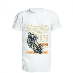 Подовжена футболка Scooter Racer 1978