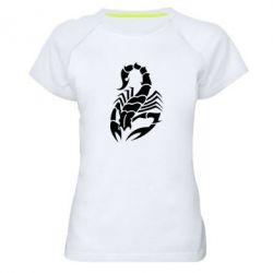Купить Женская спортивная футболка Scorpio, FatLine