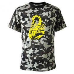 Камуфляжная футболка Scorpio