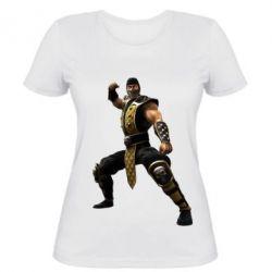 Женская футболка Scorpion Art