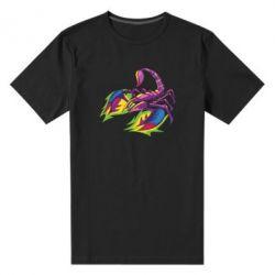 Чоловіча стрейчева футболка Scorpion tattoo