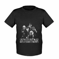 Детская футболка Scorpions 2016 - FatLine