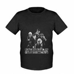 Детская футболка Scorpions 2016