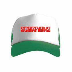Дитяча кепка-тракер Scorpions
