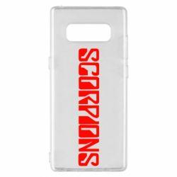 Чохол для Samsung Note 8 Scorpions