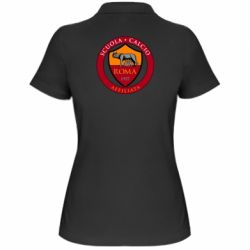 Жіноча футболка поло Scuola logo
