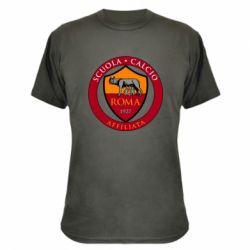 Камуфляжна футболка Scuola logo