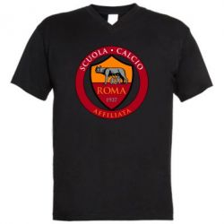 Чоловіча футболка з V-подібним вирізом Scuola logo
