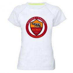 Жіноча спортивна футболка Scuola logo