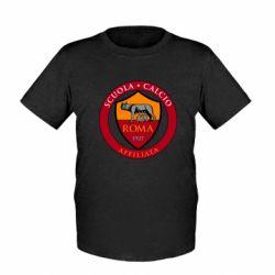 Дитяча футболка Scuola logo