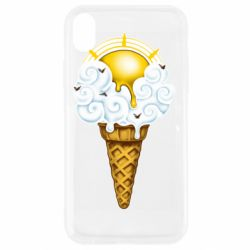 Чохол для iPhone XR Sea ice cream