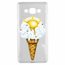 Чохол для Samsung A5 2015 Sea ice cream