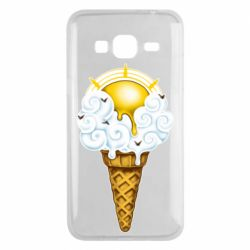 Чохол для Samsung J3 2016 Sea ice cream
