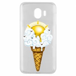 Чохол для Samsung J4 Sea ice cream