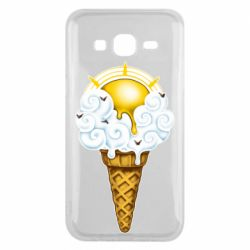 Чохол для Samsung J5 2015 Sea ice cream