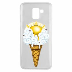 Чохол для Samsung J6 Sea ice cream
