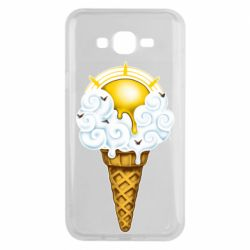 Чохол для Samsung J7 2015 Sea ice cream