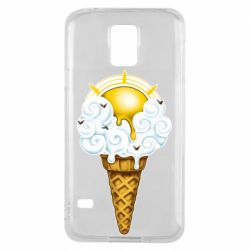 Чохол для Samsung S5 Sea ice cream