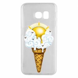 Чохол для Samsung S6 EDGE Sea ice cream